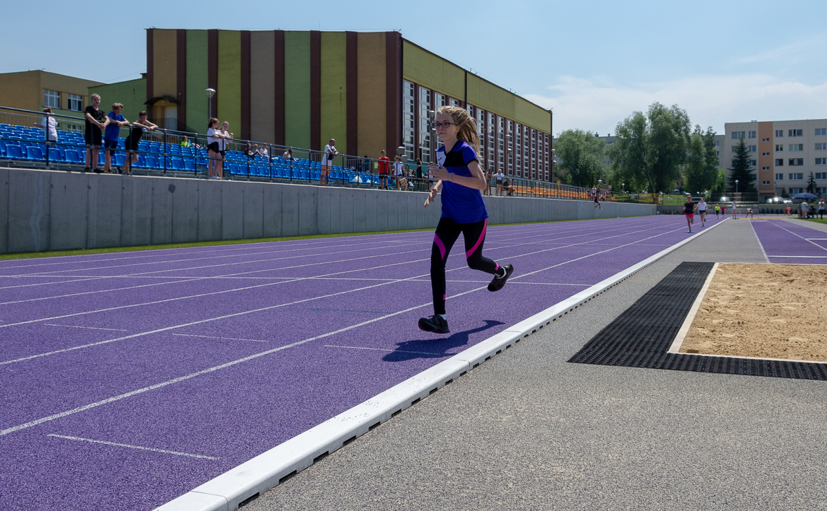 Zawody lekkoatletyczne szkół podstawowych w Gliwicach