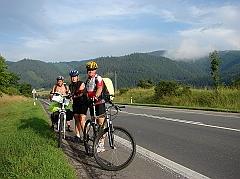 Słowacja 2009 - na rowerach