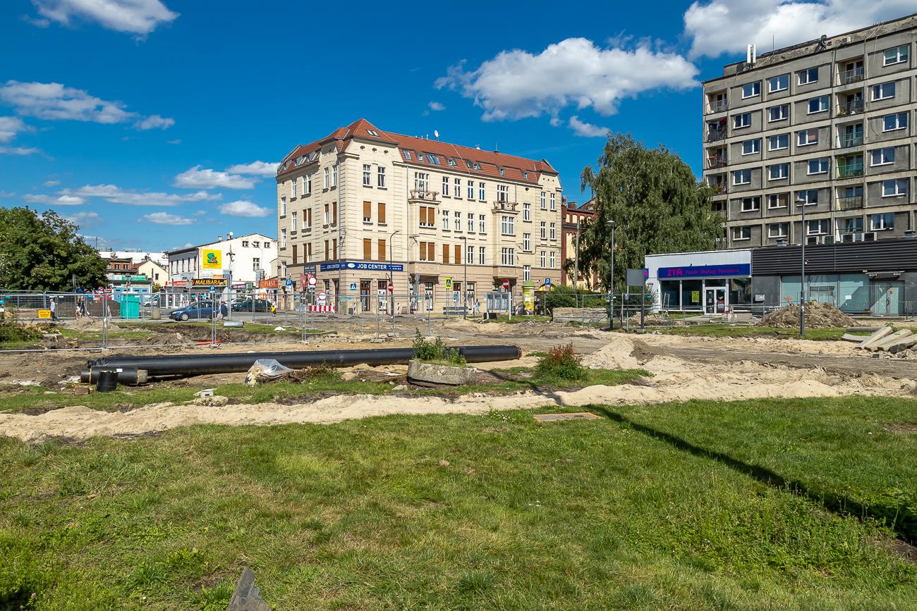 Centrum Przesiadkowe w Gliwicach Plac Piastów